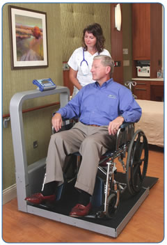 Wheel Chair Scale doran medical ds9100 wheel chair scales